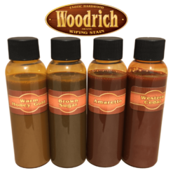 Hardwood Wiping Wood Stain Sample Color Kit
