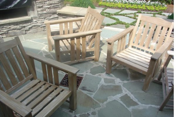 Ipe Deck with Teak Accent Furniture.3