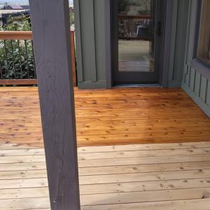 Cedar Deck After EFC-38 & Citralic