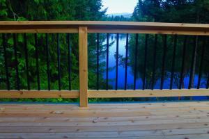 Cedar Deck Before Staining with Timber Oil Western Cedar