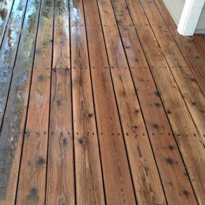 Cedar Deck Before-during HD-80 & Citralic