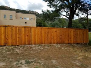 Cedar Fence After 3