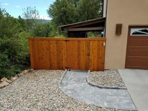 Cedar Fence After
