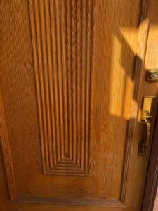 Oak Door after applying Timber Oil Brown Sugar