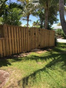 Pine Fence after applying EFC38-Citralic & Timber Oil Brown Sugar