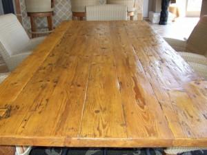Bali Teak Table Restoration