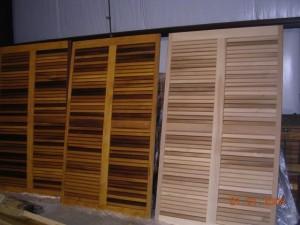 Cedar Shutters Restoration