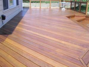 Cumaru Deck Restoration