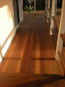 Ipe Deck After Restoration